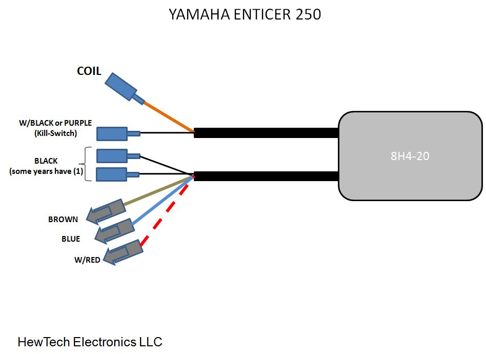 8H4 20_WIRES fireplug cdi for yamaha enticer bravo 250 300 340 to1984 www yamaha enticer 250 wiring diagram at love-stories.co